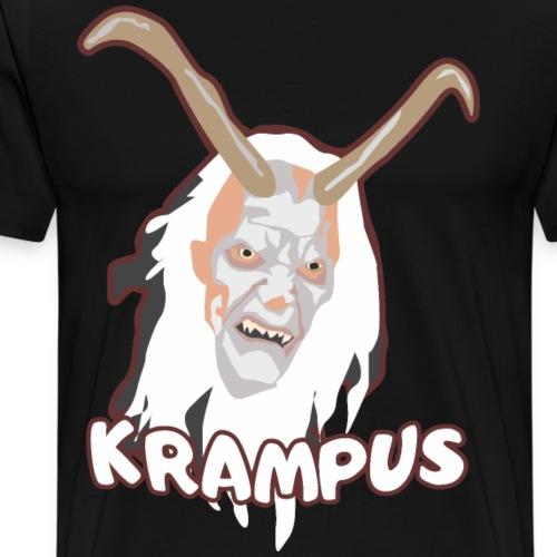 Krampus Shirt Geschenk - Männer Premium T-Shirt