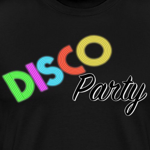 Disco Party - Premium-T-shirt herr