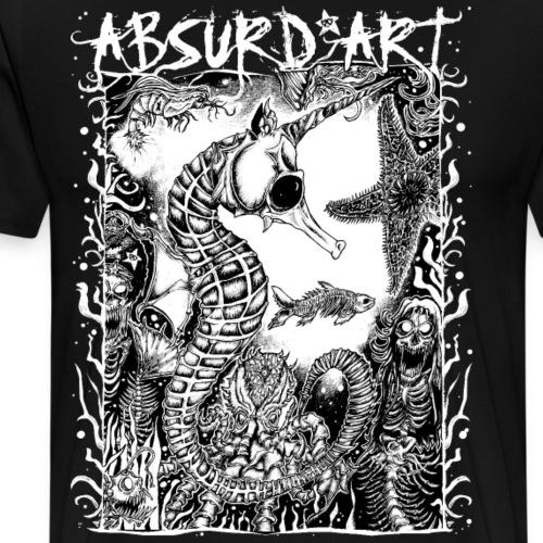 Tiefsee-Party, von Absurd ART - Männer Premium T-Shirt