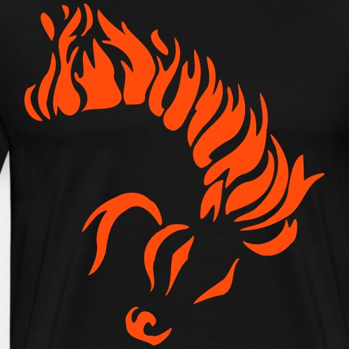 Horse of Fire - Men's Premium T-Shirt