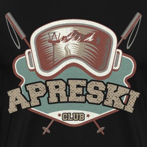 Apreski Club Shirt - Geschenk Skihütte Skifahren - Männer Premium T-Shirt