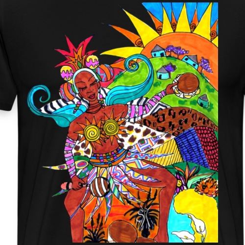 SH African Soul Variation 1 - Männer Premium T-Shirt