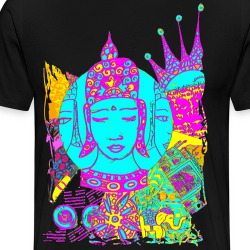 SH Namaste Buddha Variation 01 - Männer Premium T-Shirt