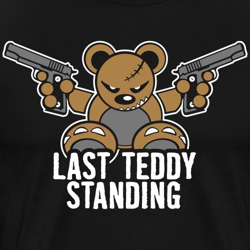 Teddy »Last Stand« - Black - Männer Premium T-Shirt