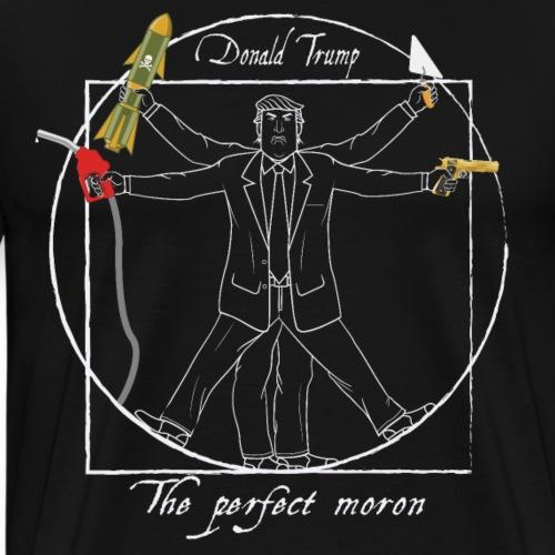 Trump: The perfect moron I - Anti-Trump design - Men's Premium T-Shirt