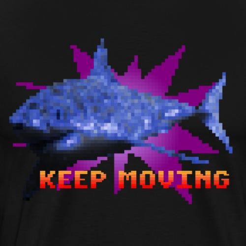 Keep Moving - Camiseta premium hombre