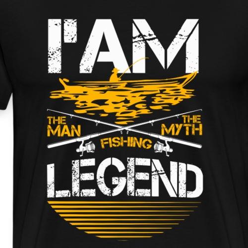 Fishing Legend - Männer Premium T-Shirt