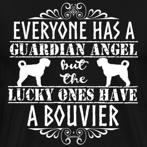Bouvier Angels 4 - Men's Premium T-Shirt