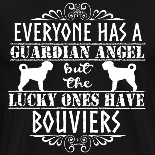 Bouvier Angels 2 - Men's Premium T-Shirt