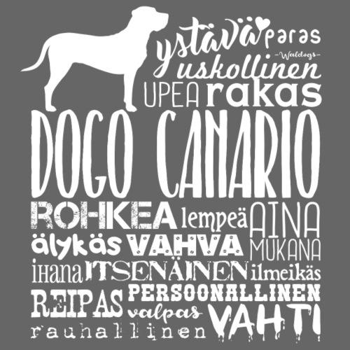 canariosanat - Miesten premium t-paita