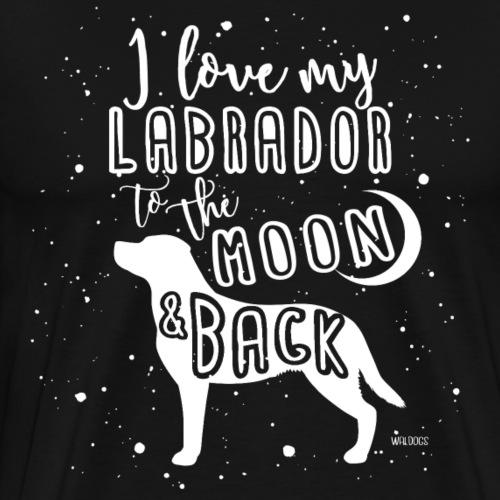 Labrador Moon - Men's Premium T-Shirt