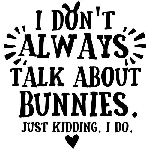Always Talkin Bunnies 3 - Miesten premium t-paita