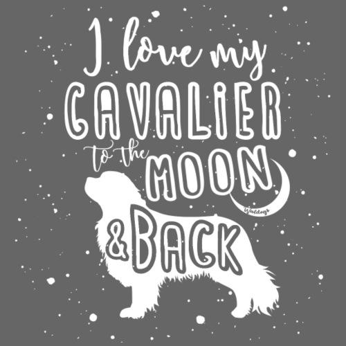Cavalier Moon - Miesten premium t-paita