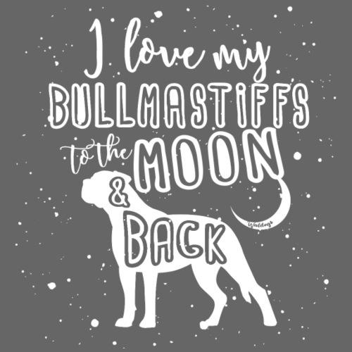 Bullmastiff Moon 2 - Miesten premium t-paita