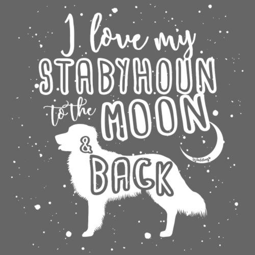 Stabyhoun Moon 2 - Miesten premium t-paita