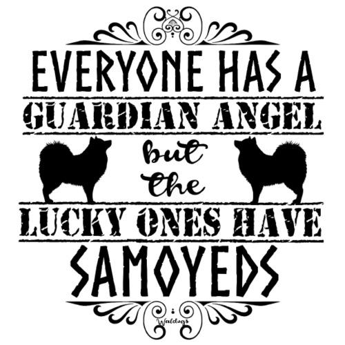 samoyed Angels BB - Miesten premium t-paita