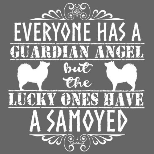 Samoyed Angels Q - Miesten premium t-paita