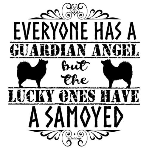Samoyed Angel B - Miesten premium t-paita