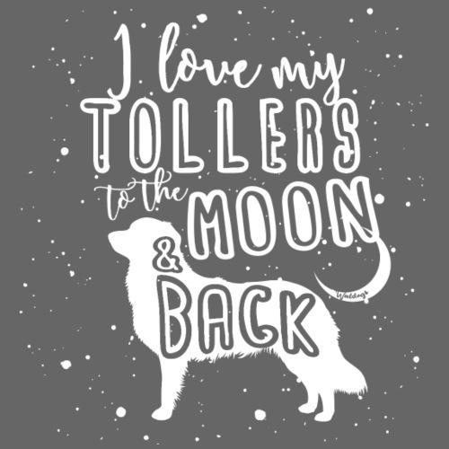Toller Moon 01 - Miesten premium t-paita