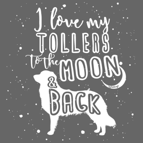 Toller Moon 02 - Miesten premium t-paita