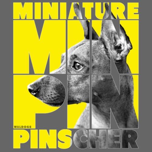 Minpin V - Miesten premium t-paita