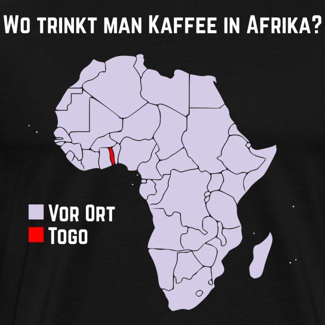 Wie trinkt man Kaffee in Afrika?