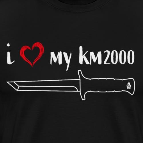 I Love My KM2000 - Männer Premium T-Shirt