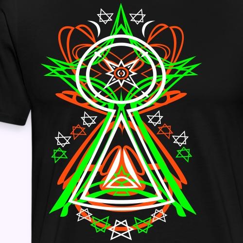 All Seeing Eye - Mannen Premium T-shirt