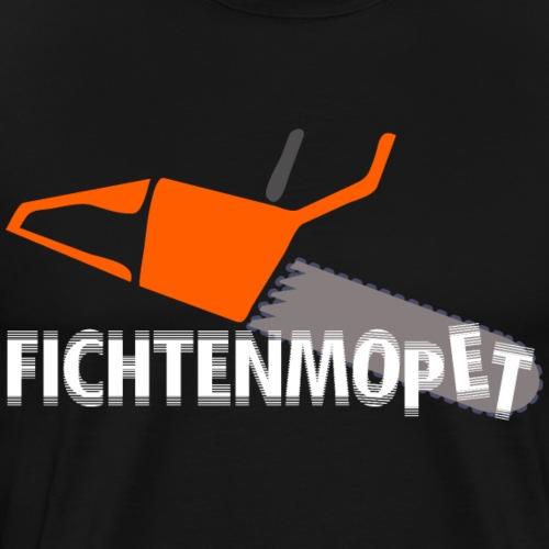 """Das """"Fichtenmopet""""-Shirt für Förster und Jäger - Männer Premium T-Shirt"""