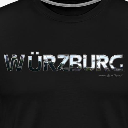 Würzburg meine Stadt von Lieblingsregion - Männer Premium T-Shirt