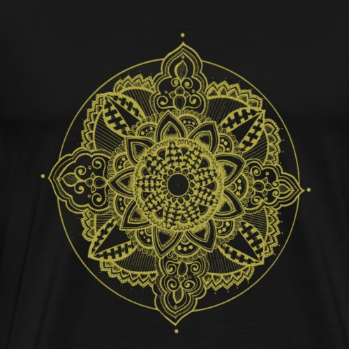 Golden Zendala - Men's Premium T-Shirt