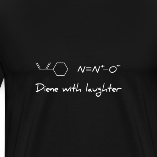Funny Science Diene With Laughter - Men's Premium T-Shirt