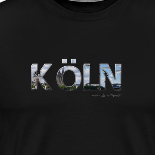 Köln am Rhein meine Stadt von Lieblingsregion - Männer Premium T-Shirt
