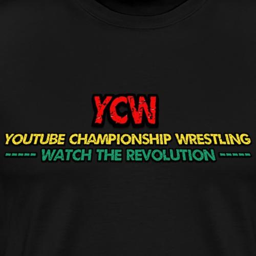 Youtube Championship Wrestling Official T-Shirt - Men's Premium T-Shirt
