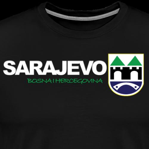 Grad Sarajevo - Männer Premium T-Shirt