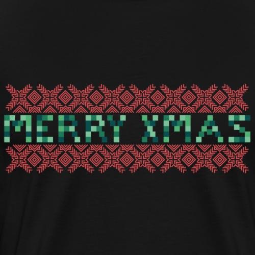 Merry X-Mas Ugly 3 - Männer Premium T-Shirt