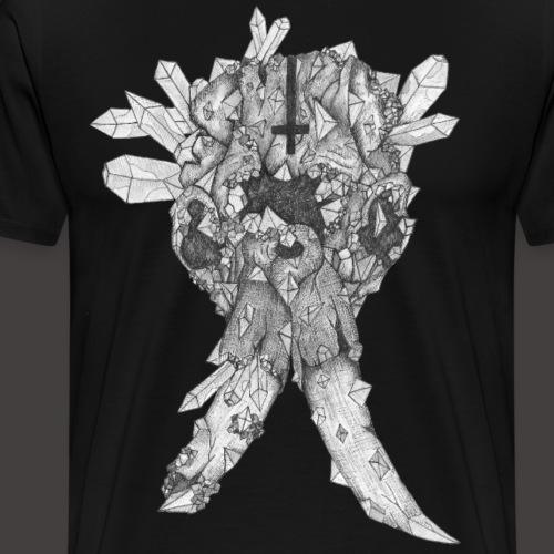 L'éléphant de Cristal - T-shirt Premium Homme