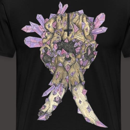 L'éléphant de Cristal Couleur - T-shirt Premium Homme