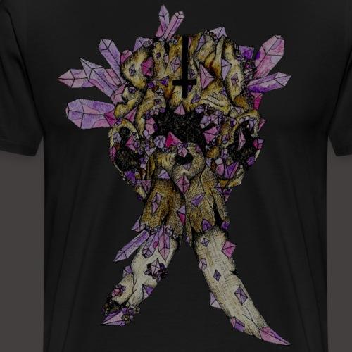 L'éléphant de Cristal Creepy - T-shirt Premium Homme