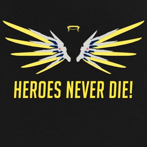 Heroes Never Die! - Men's Premium T-Shirt
