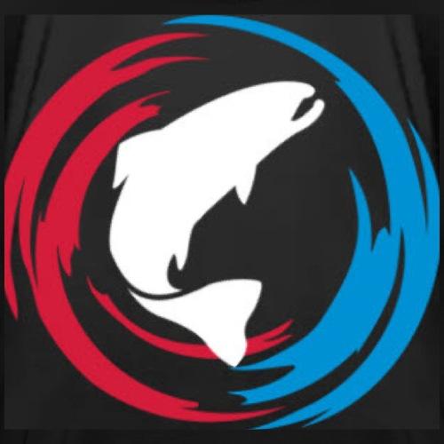 Logo Fisk - Premium-T-shirt herr