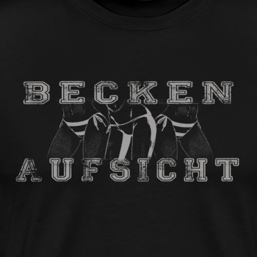 Beckenaufsicht fun - Männer Premium T-Shirt