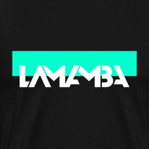 Lamamba Edge - Männer Premium T-Shirt