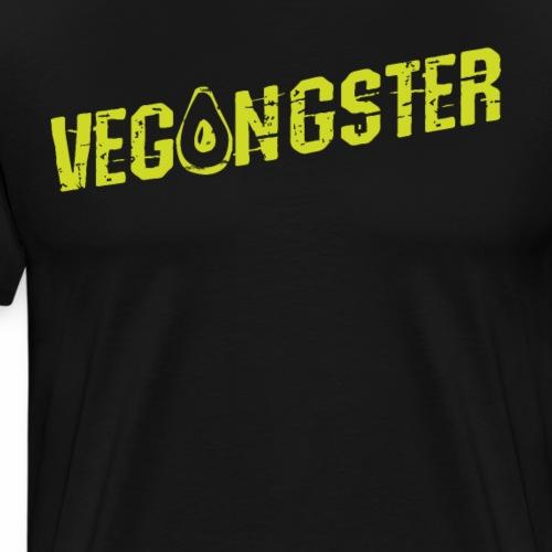 Vegangster Shirt Veganer T-Shirt Geschenk - Männer Premium T-Shirt