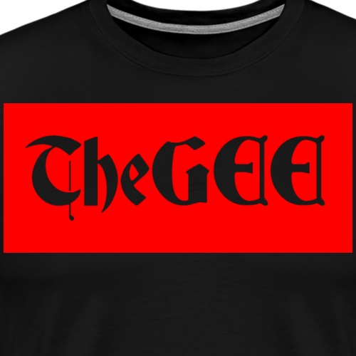 thegee gangster - Men's Premium T-Shirt