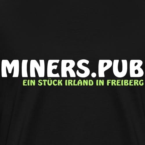 Miners Pub - Männer Premium T-Shirt
