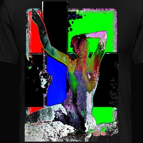 morgens aufwachen - Männer Premium T-Shirt