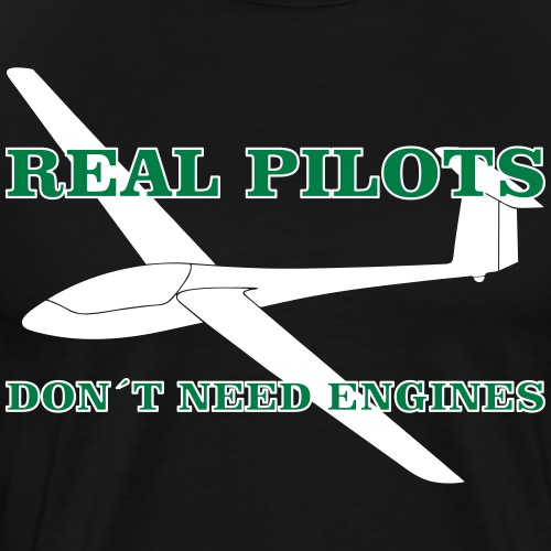 Segelflieger gleiten - Männer Premium T-Shirt