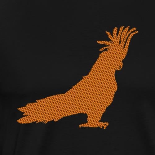 Papagei Orange - Männer Premium T-Shirt
