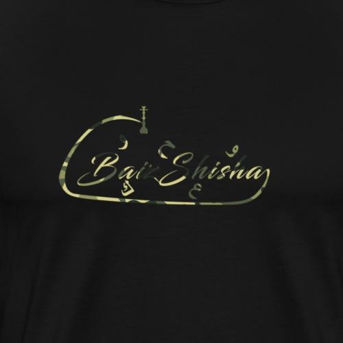 Arabic Grün Camouflage - Männer Premium T-Shirt